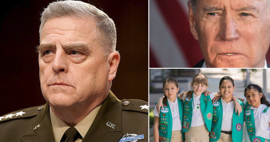 Gen. Mark Milley OUT After Tipping-Off Girl Scout Troop Joe Biden Was Coming