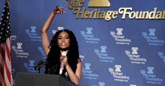 Nicki Minaj Named President Of The Heritage Foundation