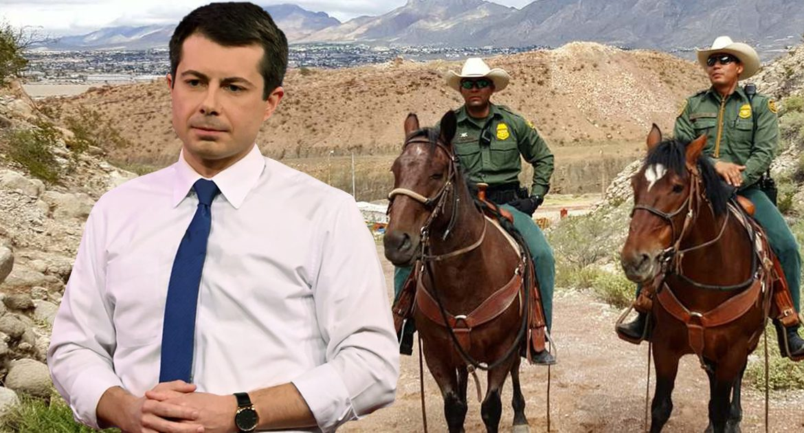 'Get Outta Here, Pete!' Border Patrol Yells To Buttigieg After He Hears They're Handing Out Whippings