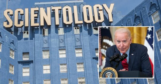 Report: Democrats Starting To Freak Out The Scientologists